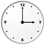 Twitter-Length Task - Clock Angle